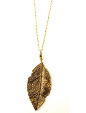 Charm Leaf Necklace