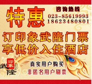2013儿童节武隆旅游亲子套票