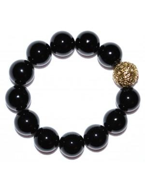 Lucky Onyx Stone Bracelet