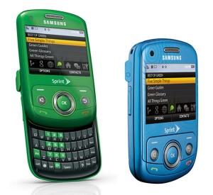 samsung reclaim 300x275 New eco friendly Sprint phone