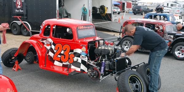 Two-time NHMS track champion Shaun Buffington spends a lot of time perfecting the winning setup.