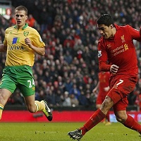 luis suarez vs norwich