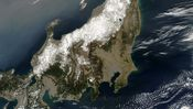 Satellitenbild Japan Beben