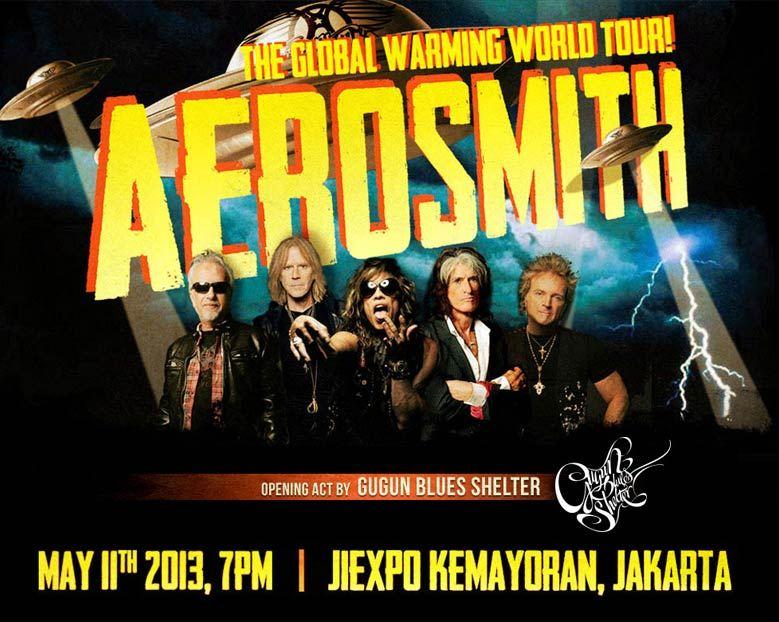 Aerosmith: Global Warming World Tour Live in Jakarta 2013