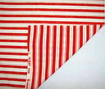 striped cotton quilting fabric