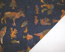 batik quilting fabric