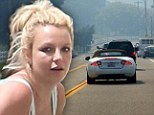 Britney Spears races towards California wildfire to get to her family as flames threaten to engulf their home
