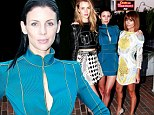 Battle of the rising hemlines! Nicole Richie and Rosie Huntington-Whiteley bare their stems in short skirts as Liberty Ross rises to the challenge in thigh-grazing mini dress