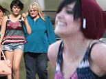 Paris Jackson skips grandmother Katherine's birthday to spend the day at a horse ranch with birth mother Debbie Rowe