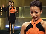 Zoe Saldana shows she can be sexy AND goofy on Jonathan Ross show... as she reveals Avatar sequels will be filmed simultaneously