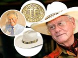 Want a ruby belt buckle? Dallas star Larry Hagman's belongings to be auctioned off May 5