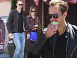 Another day, another lady! Alexander Skarsgard takes a bite out of the Big Apple with a mystery brunette by his side