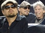Is he on a Revolutionary Road? Leonardo DiCaprio opts for even more time out with mature male chums rather than young girlfriends, donning a gentlemanly cap