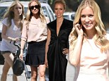 Is that really necessary? New mother Kristin Cavallari dons four separate ensembles in one day