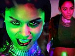 Animal instincts unleashed! A sultry Vanessa Hudgens snarls and claws at the camera for her $$$ex music video