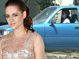On the Road... and off it again! Kristen Stewart has her second fender bender in two years and is nothing short of embarrassed... at least now she has Robert back to console her