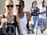Here to stay? Eddie Murphy is still going strong with his terrifically toned Australian girlfriend, Paige Butcher... in somewhat of a record for the notorious ladies man