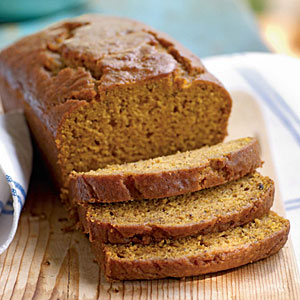 Two twists on pumpkin bread   vegan friendly!