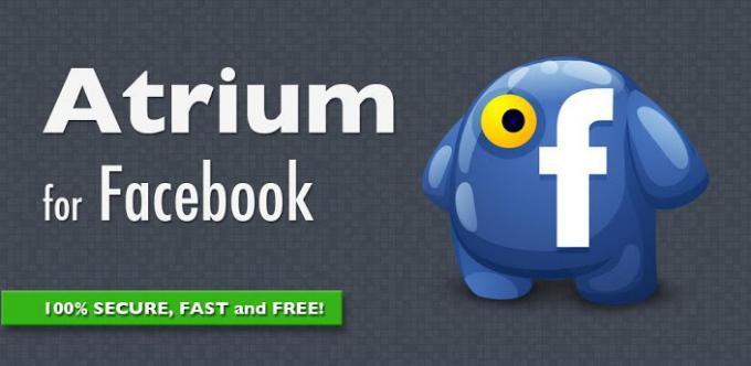 Atrium La alternativa para Facebook en Android