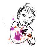 Op-Art: Baby Face