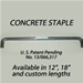 Products Repair - The Concrete Staple