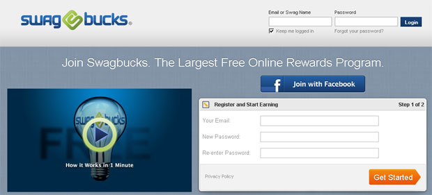 Swagbucks Review - Signup