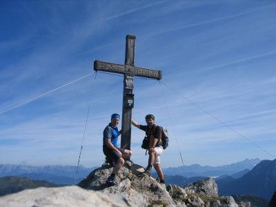Hörbie und AlpenYeti am Draugstein