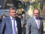 Бурлаков и Агеев обещают закончить реконструкцию центра Симферополя к Хэллоуину (ФОТО)
