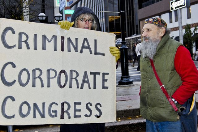 Congress: Still Corporate. Still Criminal. Still Captured.