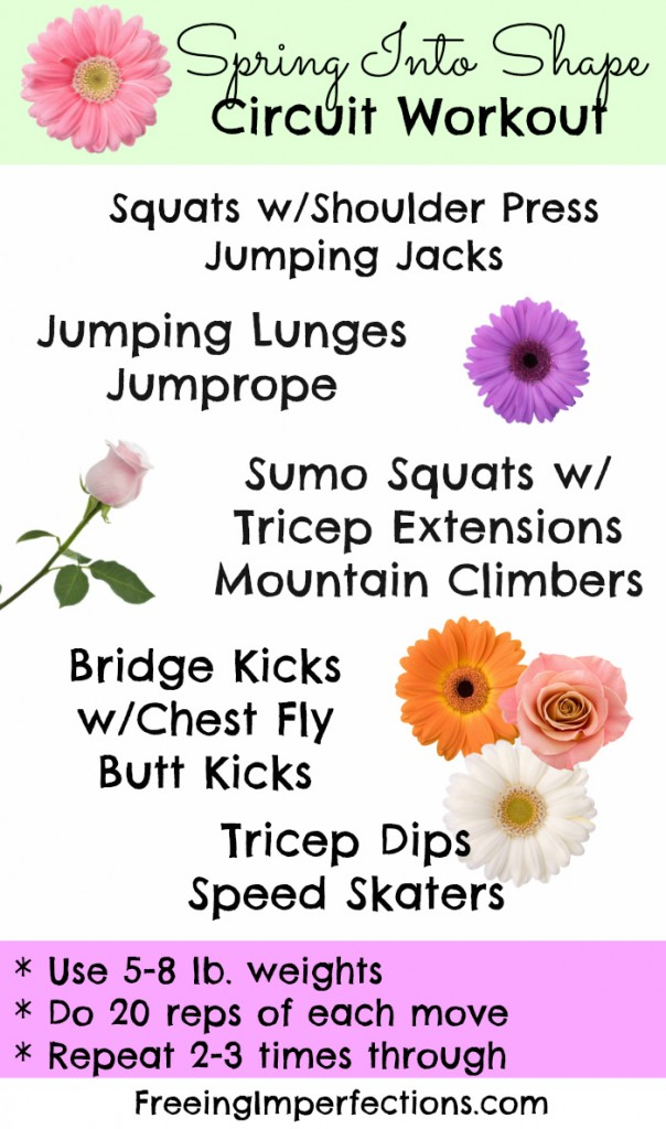 Spring Into Shape Circuit Workout