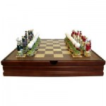 Image of from top gift ideas Golf Themed Chess Set