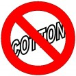 No Cotton!