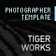 PHOTOGRAPHER TEMPLATE - AS3 - ActiveDen Item for Sale