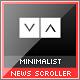 Minimalist XML News Scroller - ActiveDen Item for Sale