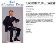 Dean of American Design