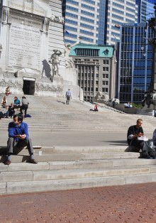 Soldiers and Sailors Monument Grand Stairs
