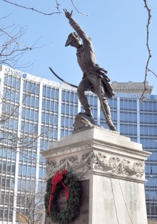 Soldiers and Sailors Monument Historical Figures