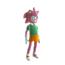 Classic Amy-Rose Avatar Costume