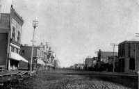 Whyte Avenue Looking East, c.1900; City of Edmonton Archives EA-10-269