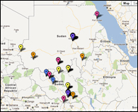 CIDA-funded projects in Sudan and South Sudan
