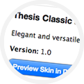 Thesis skins