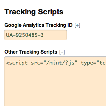 Google Tracking Scripts