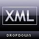 XML Dropdown Menu