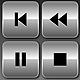 Media Player Icons Set V2