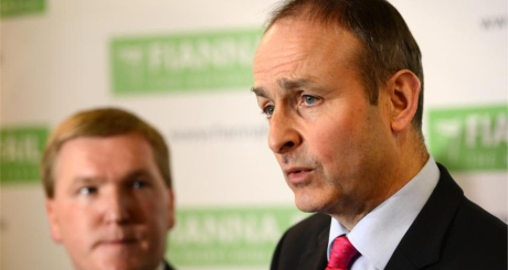 Fianna Fail leader Micheál Martin has strongly advocated backing the Government's bill saying it was 'pro-life'. Photograph: Dara Mac Donaill /The Irish Times