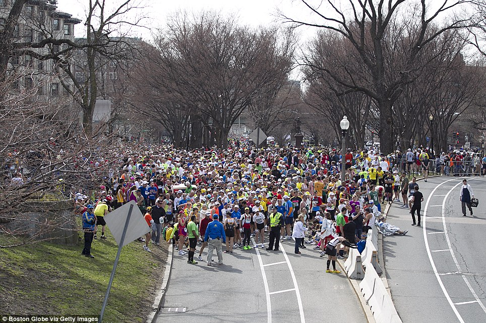 Action plan: Runners who had not finished the race were stopped before the Massachusetts Avenue overpass