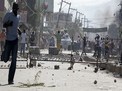 Port-au-Prince, one of the most dangerous cities