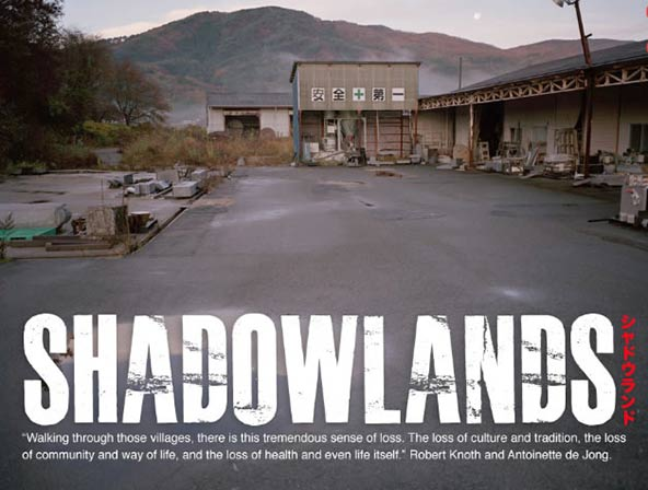 Shadowlands by Robert Knoth and Antoinette de Jong, in conjunction with Greenpeace.