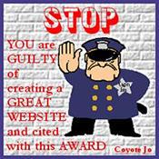 award stop