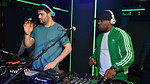 Rudimental do the Harlem Shake live in the Mix